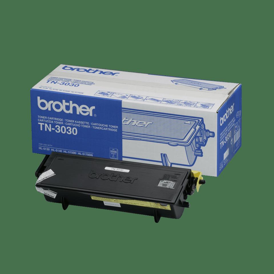 Original TN-3030 High Yield Tonerkartusche von Brother – Schwarz