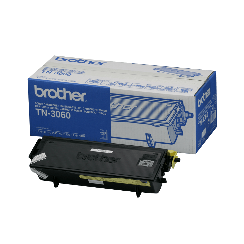 Original TN-3060 High Yield Tonerkartusche von Brother – Schwarz