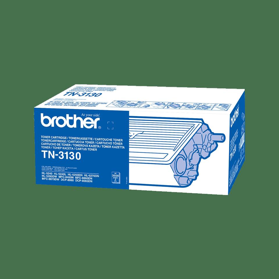 Original TN-3130 High Yield Tonerkartusche von Brother – Schwarz