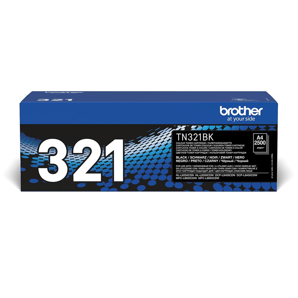 Original TN-321BK Tonerkartusche von Brother – Schwarz