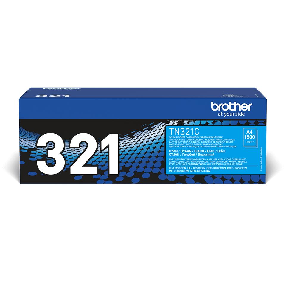 Original TN-321C Tonerkartusche von Brother – Cyan 2