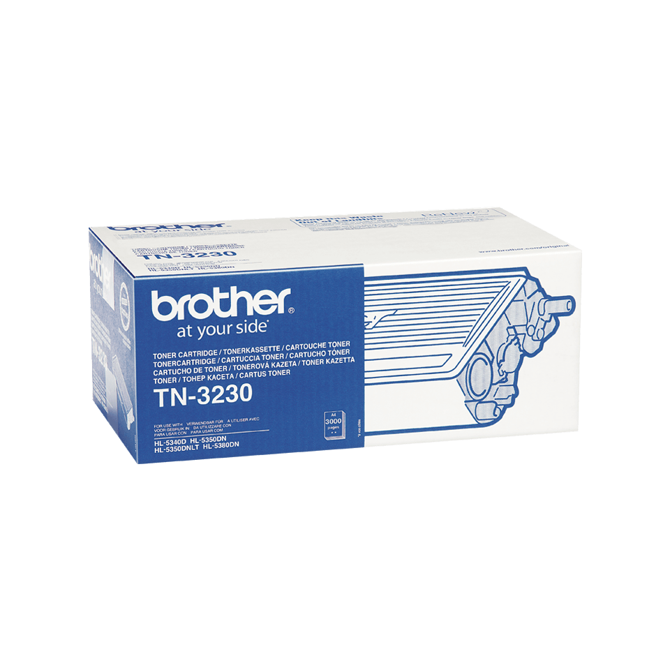 Cartouche de toner TN-3230 Brother originale – Noir 2