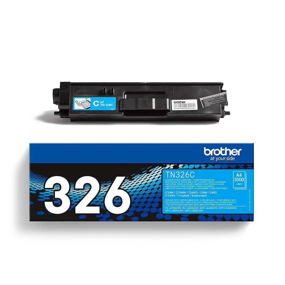 Toner TN-326C Original Brother - Cyan 2
