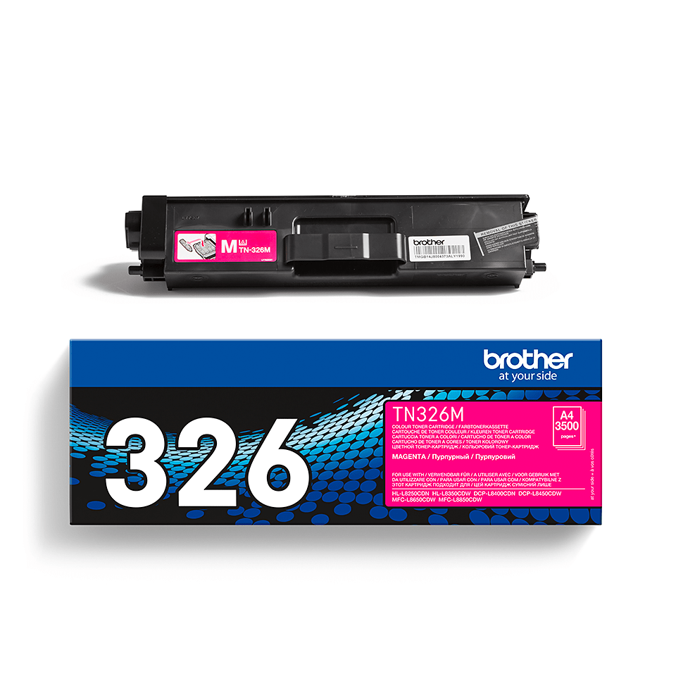 Cartouche de toner TN-326M Brother originale – Magenta 2