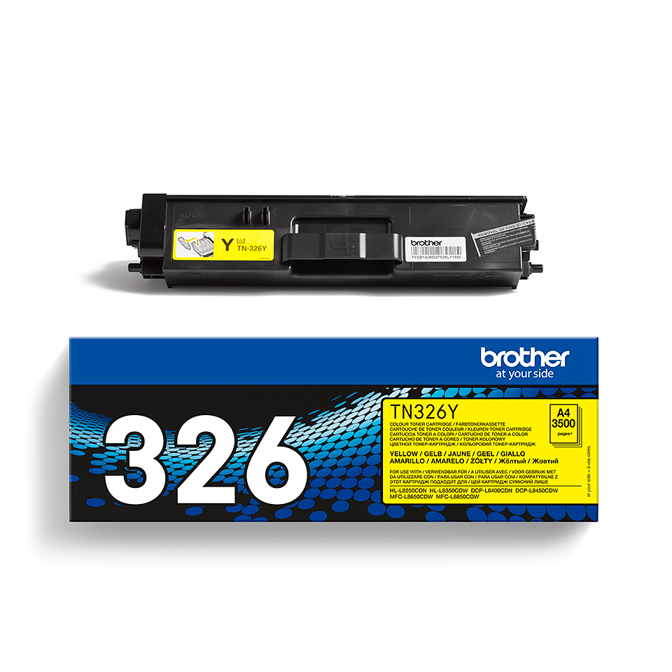 Cartouche de toner TN-326Y Brother originale – Jaune 2