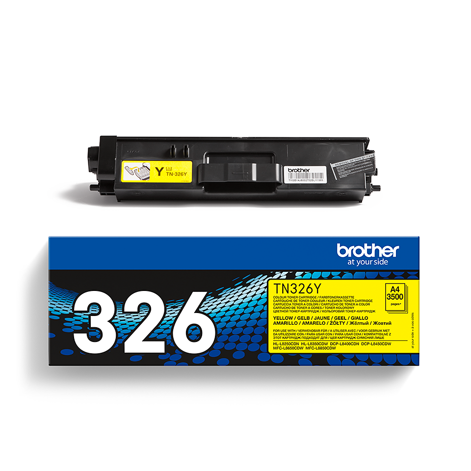 Toner TN-326Y Brother Original – Gelb 2