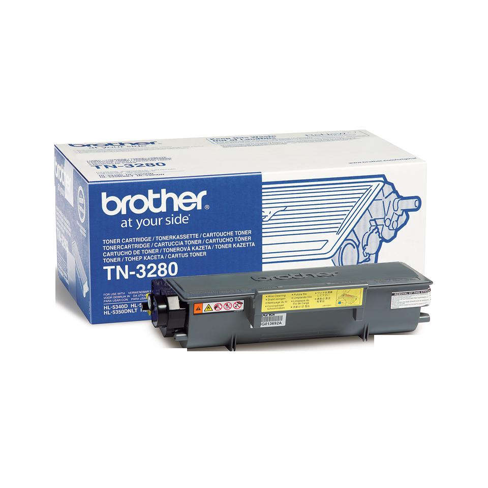 Original TN-3280 High Yield Tonerkartusche von Brother – Schwarz