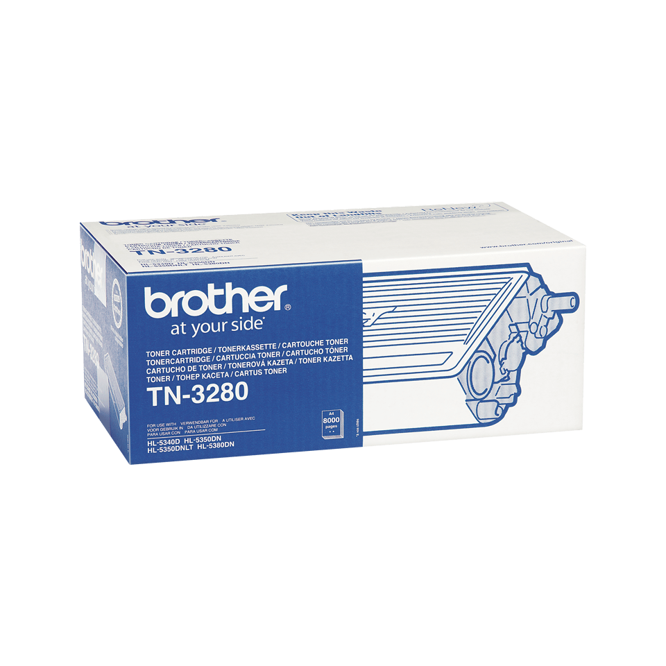 Original TN-3280 High Yield Tonerkartusche von Brother – Schwarz  2