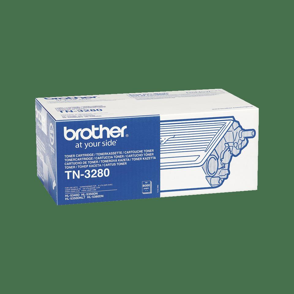 Original TN-3280 High Yield Tonerkartusche von Brother – Schwarz 2