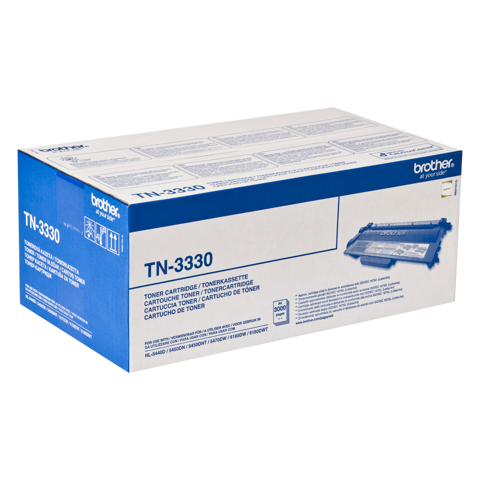 Cartouche de toner TN-3330 Brother originale – Noir  2