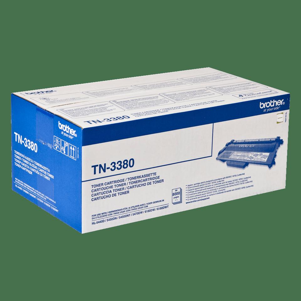 Original TN-3380 High Yield Tonerkartusche von Brother – Schwarz 2