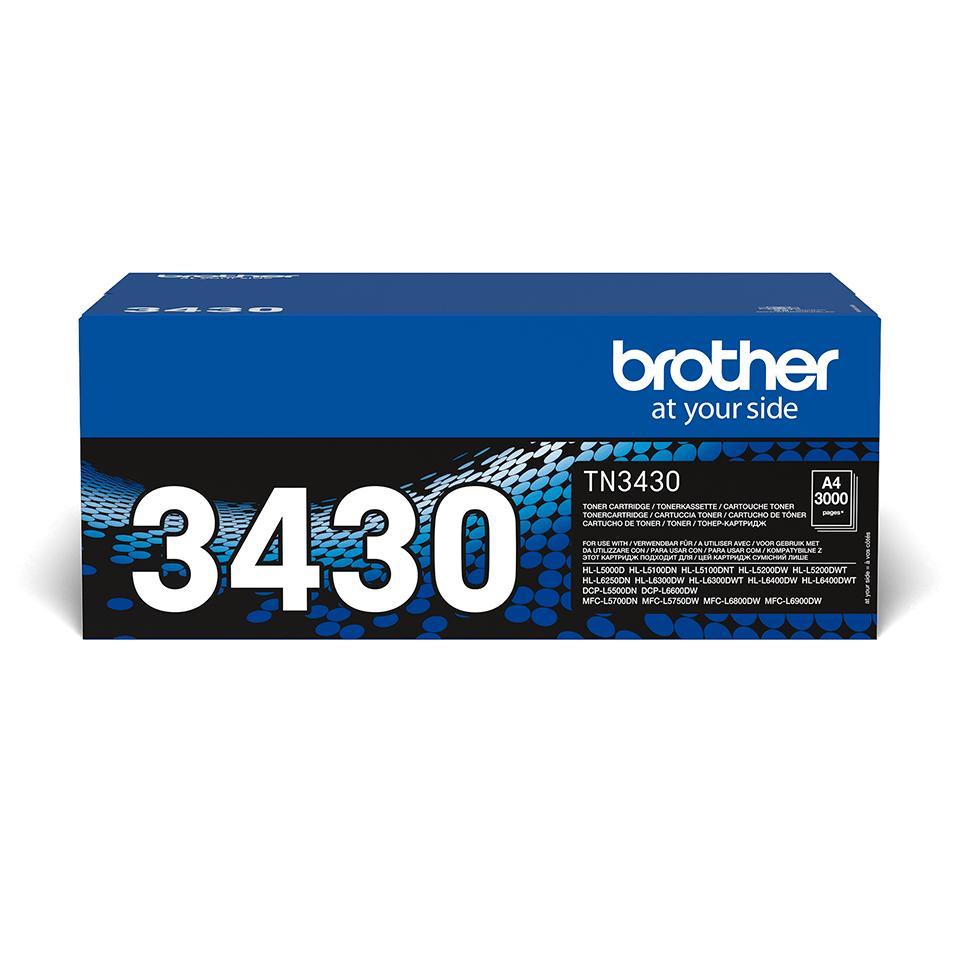 Toner TN-3430 Brother Original - Schwarz