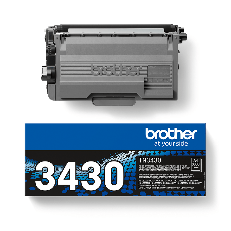 Toner TN-3430 Brother Original - Schwarz 2