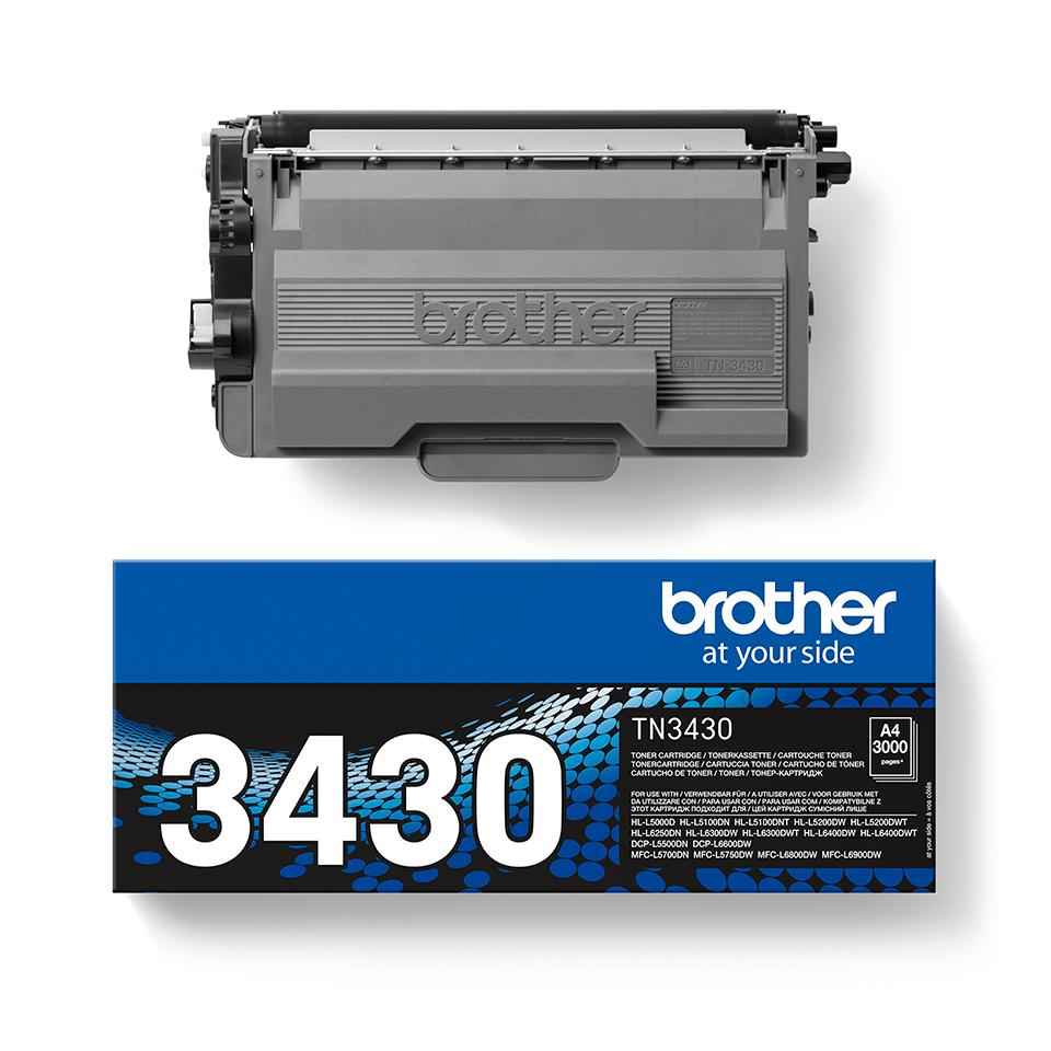 Toner TN-3430 Brother Original - Schwarz 2