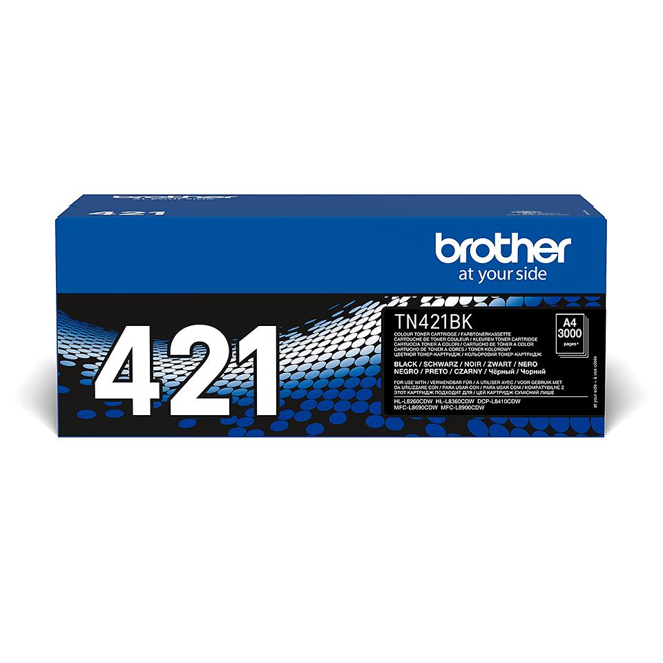 Toner TN-421BK Original Brother – Schwarz 2