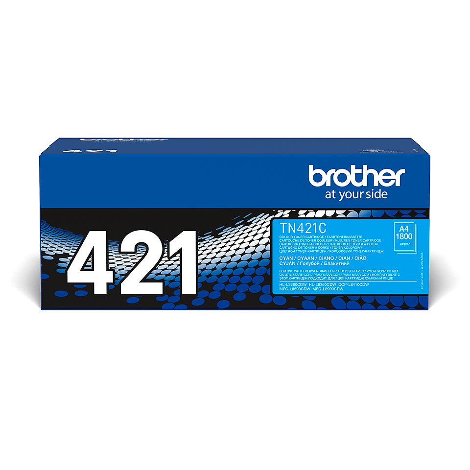 Cartouche de toner TN-421C Brother originale – Cyan