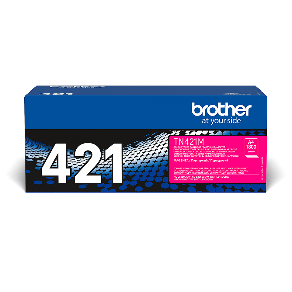 Toner TN-421M Brother original – Magenta 2