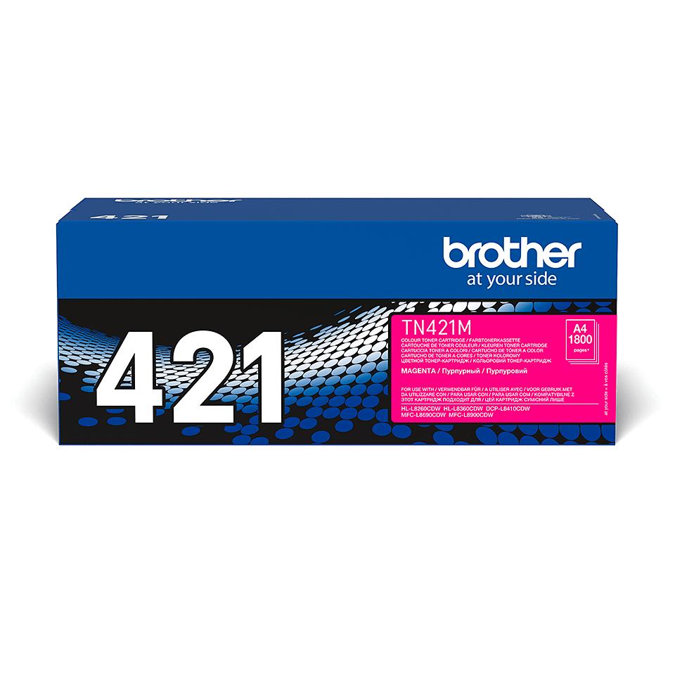 Toner TN-421M Brother original – Magenta 2