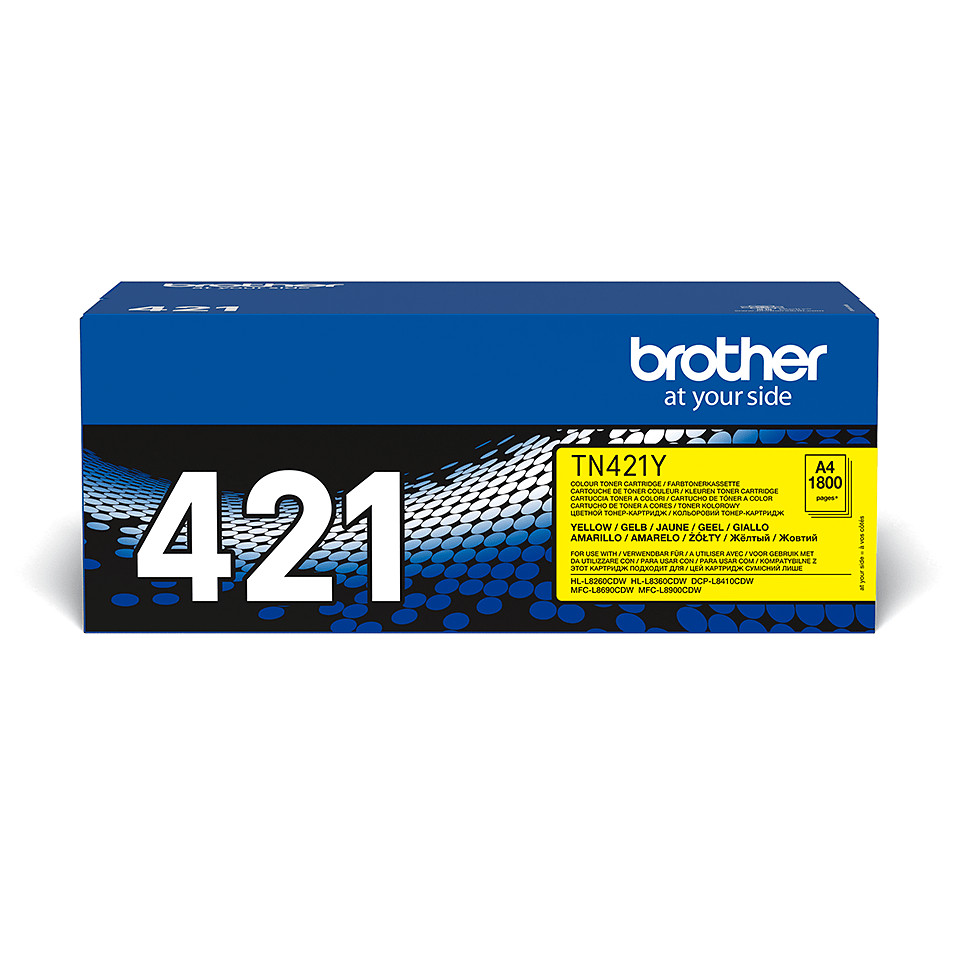 Toner TN-421Y Brother original – gelb