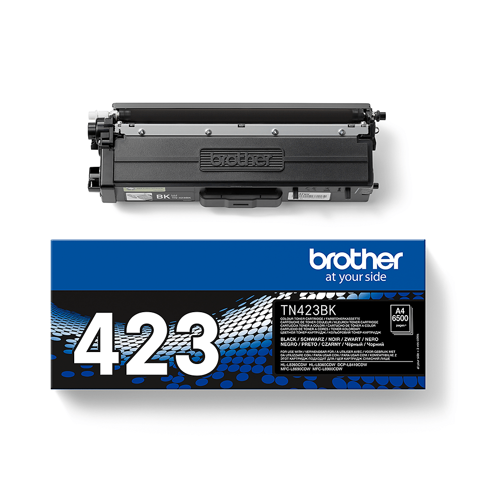 Cartouche de toner TN-423BK Brother originale – Noir 2