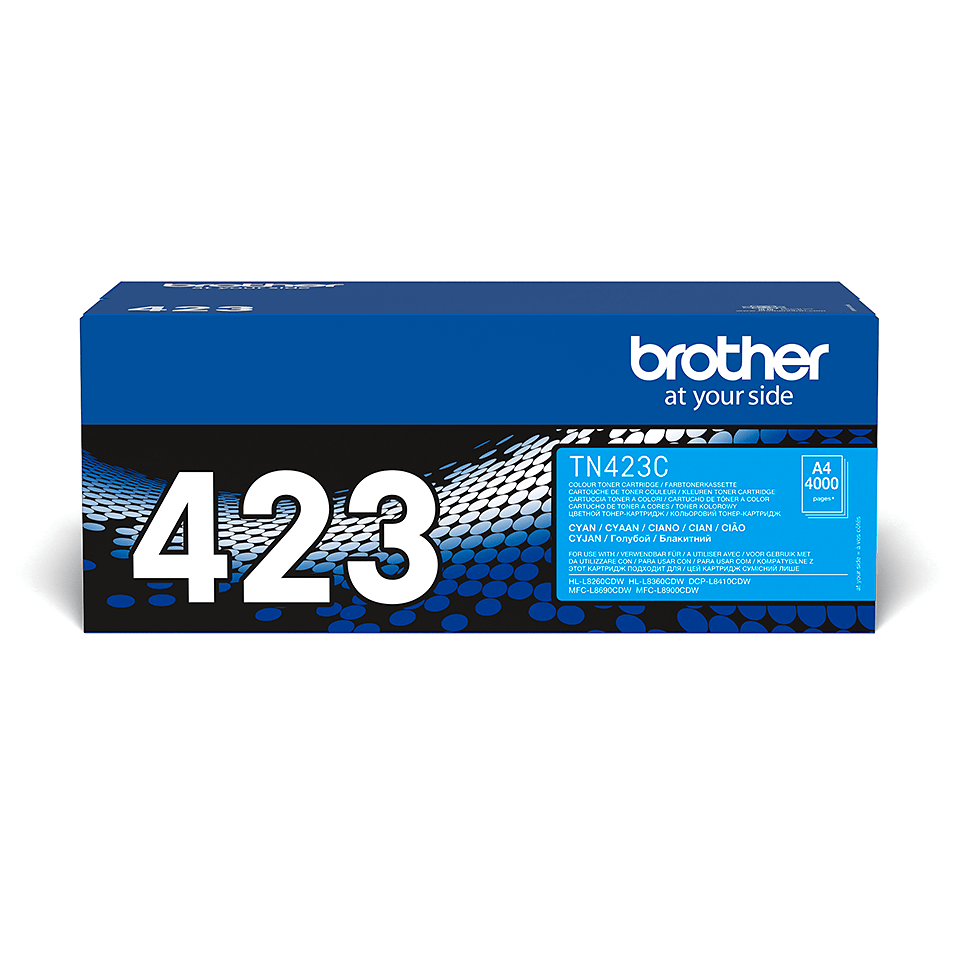 Cartouche de toner TN-247C Brother originale – Cyan