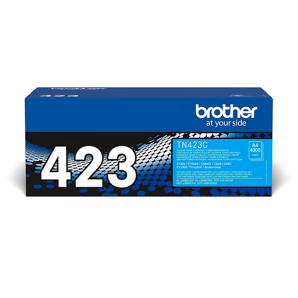 Brother TN-423C Toner Cartridge - Cyan 0