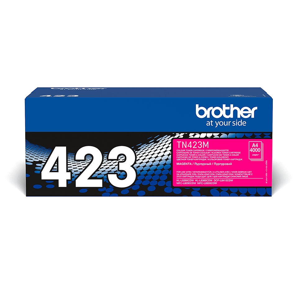 Cartouche de toner TN-423M Brother originale – Magenta