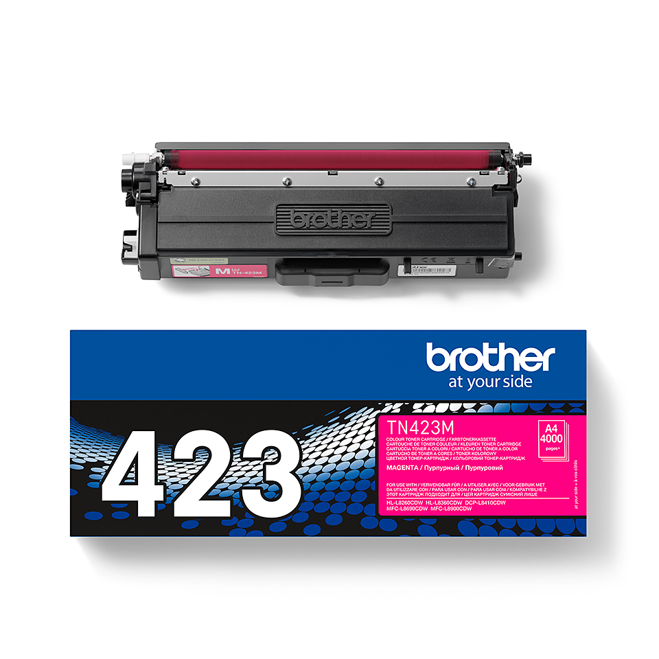 Cartouche de toner TN-423M Brother originale – Magenta 2