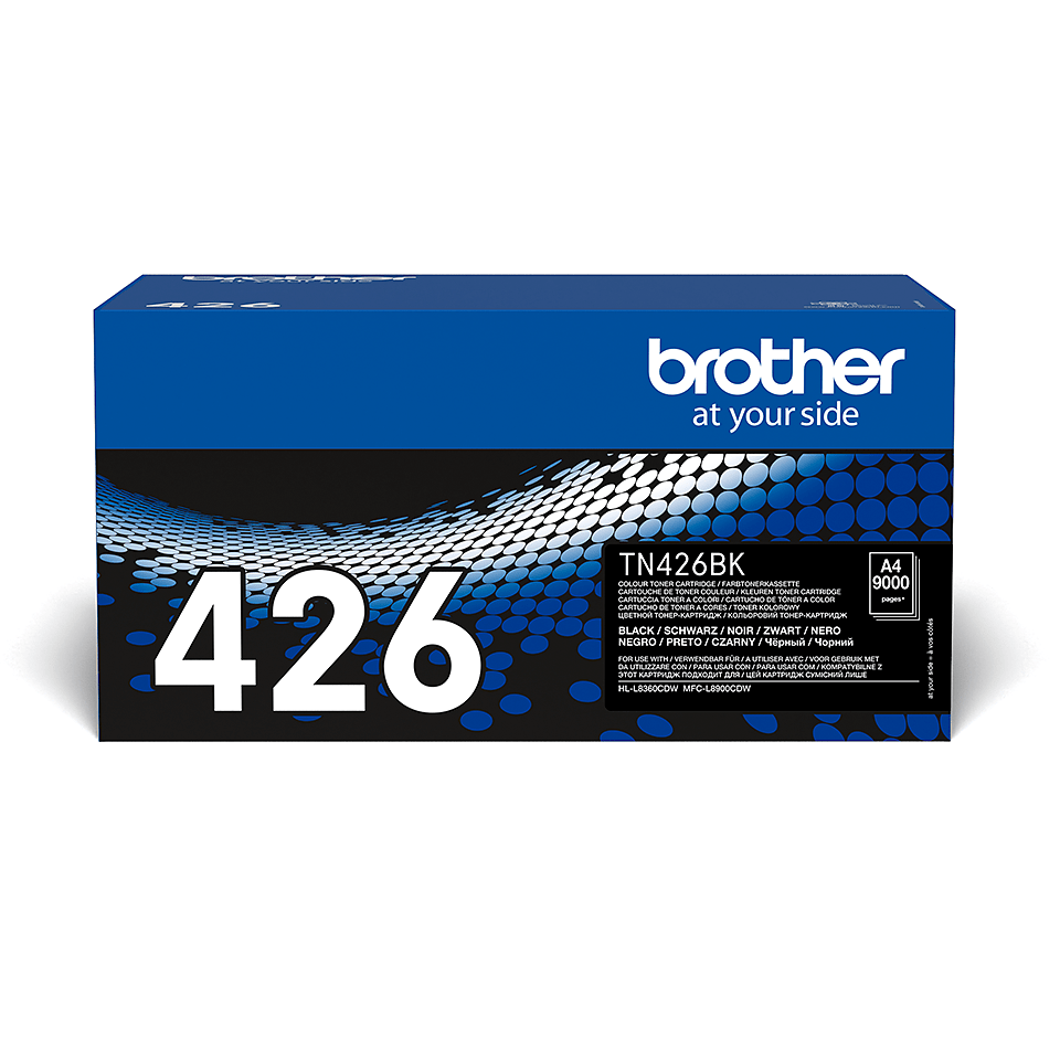 Cartouche de toner TN-426BK Brother originale – Noir
