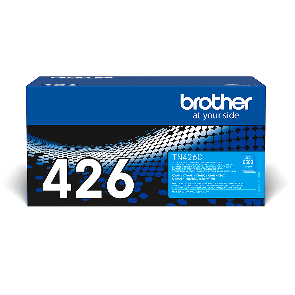 Cartouche de toner TN-426C Brother originale – Cyan
