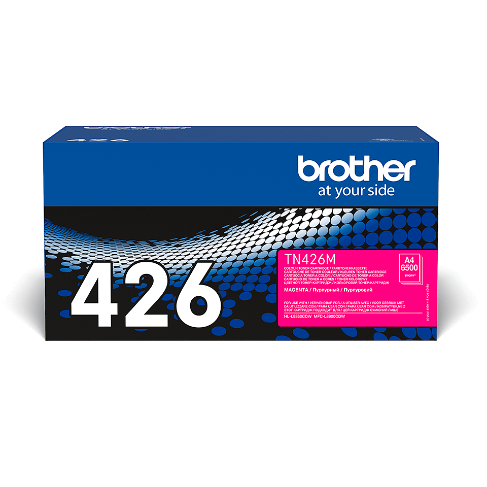Brother TN-426M Toner Cartridge - Magenta 1