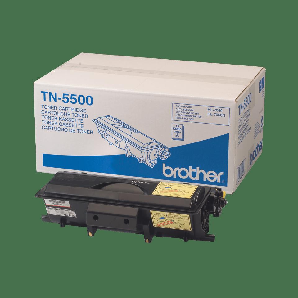 Original TN-5500 High Yield Tonerkartusche von Brother – Schwarz