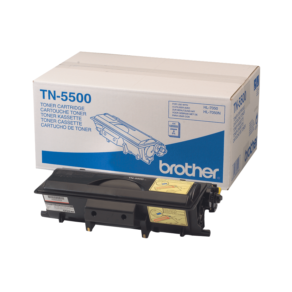 Cartouche de toner TN-5500 Brother originale à haut rendement – Noir