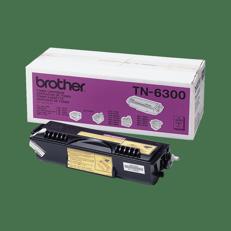 Original TN-6300 High Yield Tonerkartusche von Brother – Schwarz