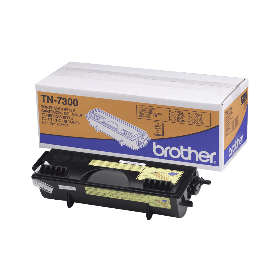 Cartouche de toner TN-7300 Brother originale à haut rendement – Noir