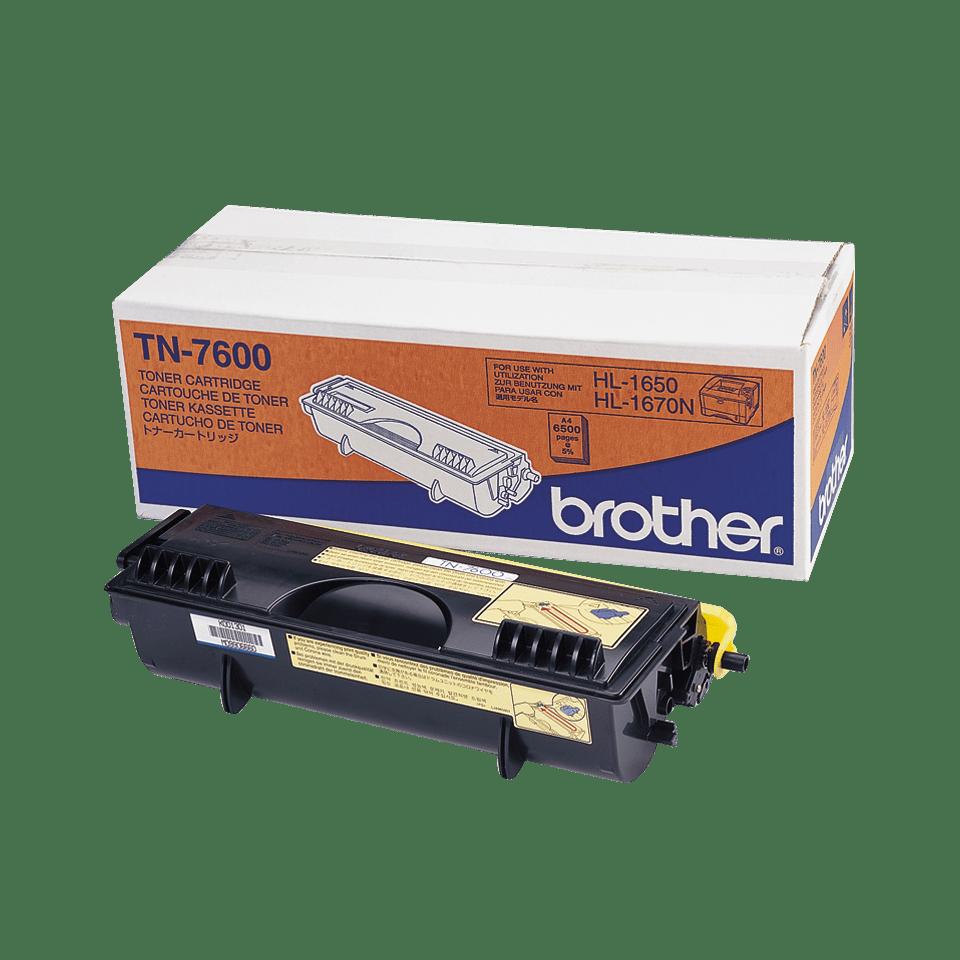 Cartouche de toner TN-7600 Brother originale à haut rendement – Noir