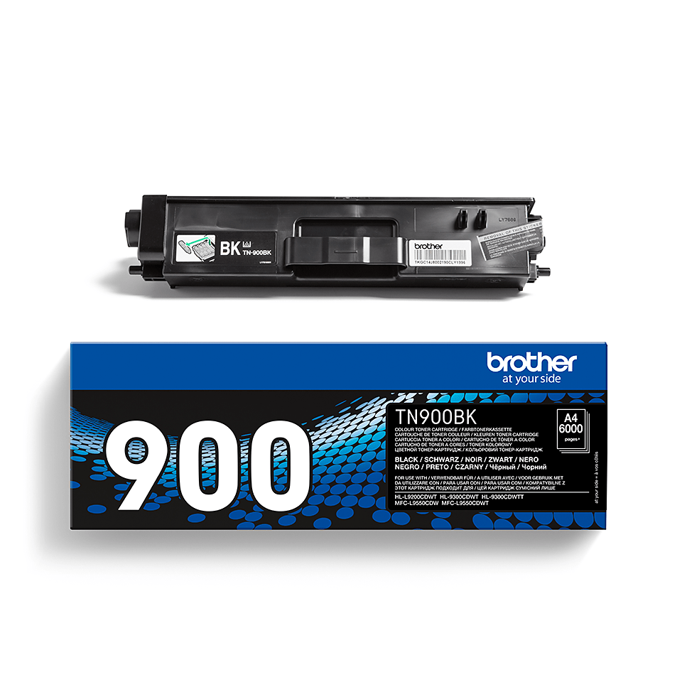 Cartouche de toner TN-900BK Brother originale – Noir 2