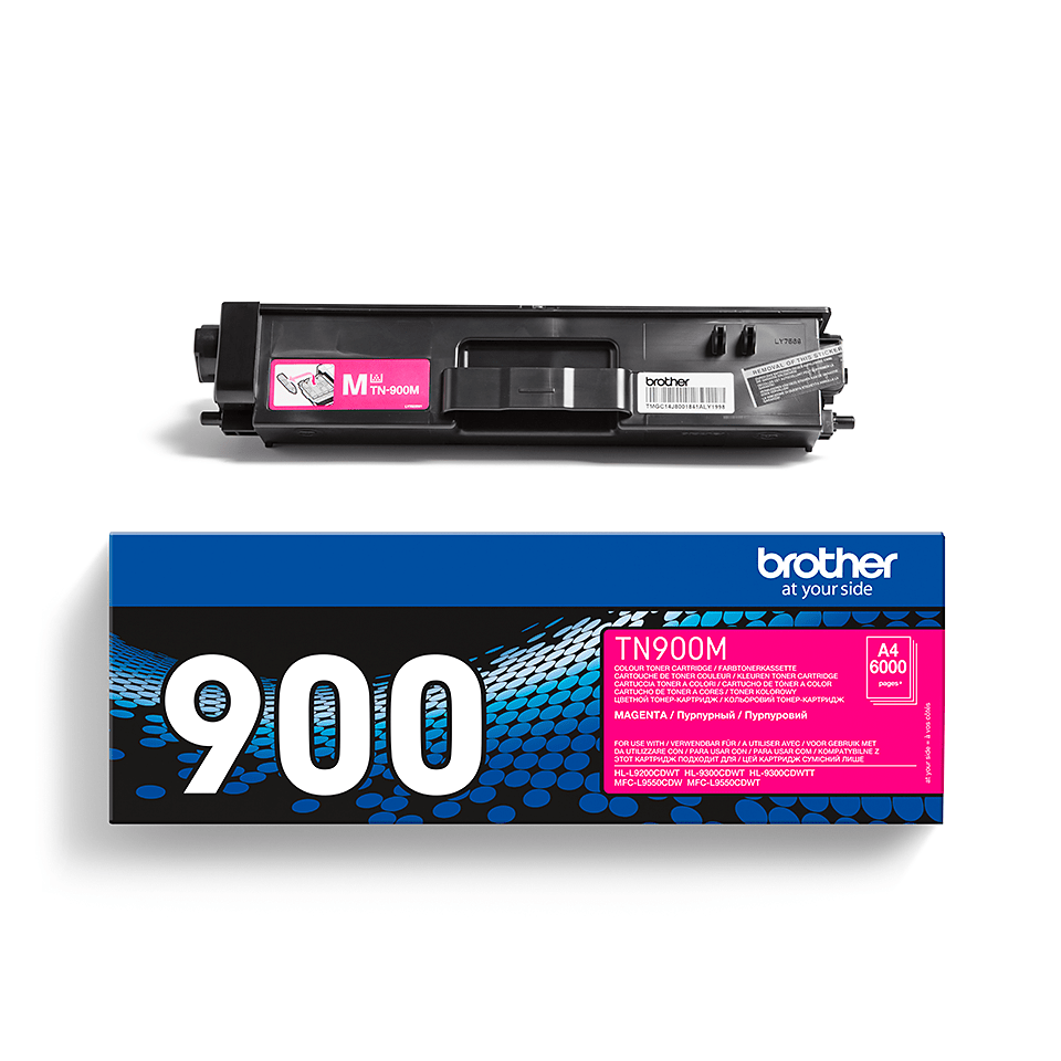 Original TN-900M Tonerkartusche von Brother – Magenta 2