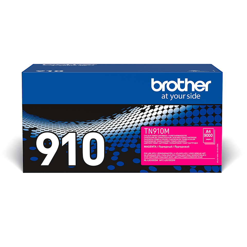 Original TN-910M Tonerkartusche von Brother – Magenta