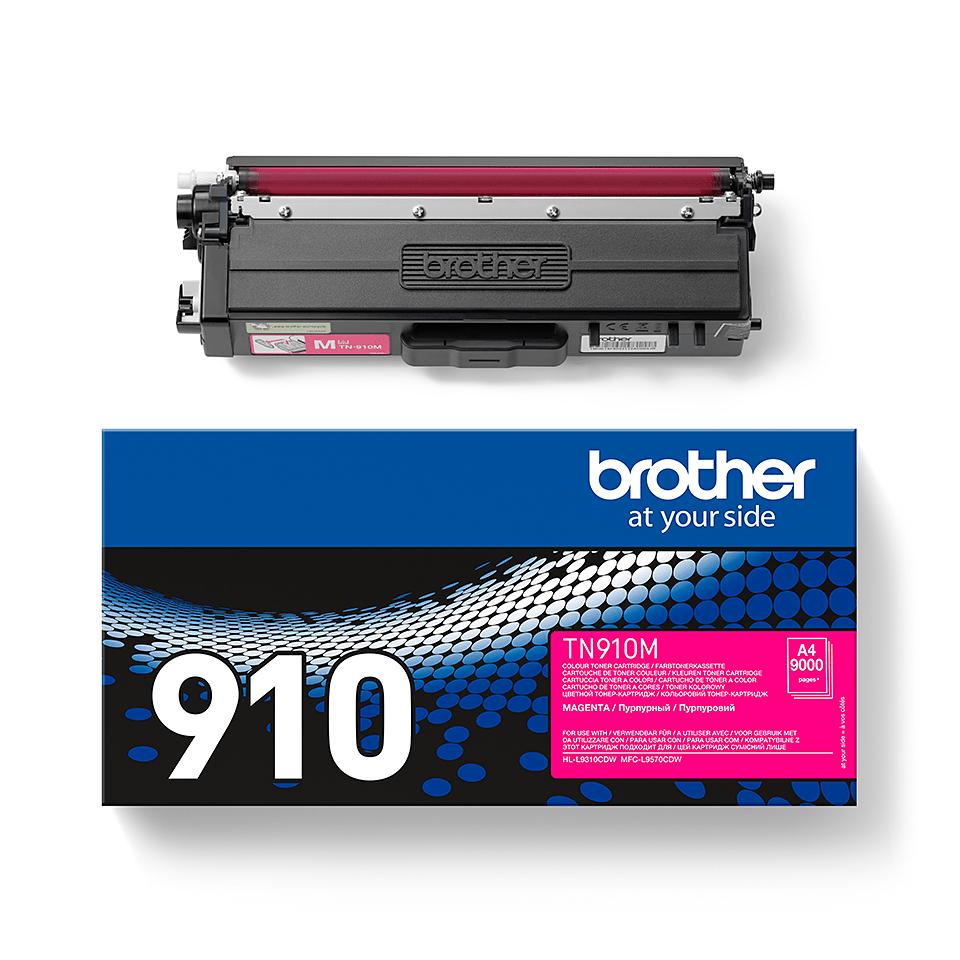 Cartouche de toner TN-910M Brother originale – Magenta 2