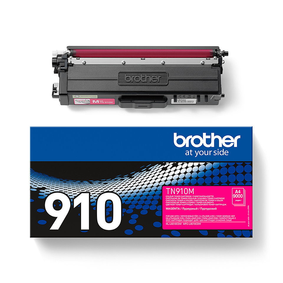 Cartouche de toner TN-910M Brother originale – Magenta 2