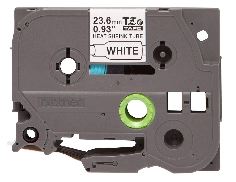 Cartouche pour gaine thermorétractable HSe-251 Brother originale – Noir sur blanc, 23,6mm de large