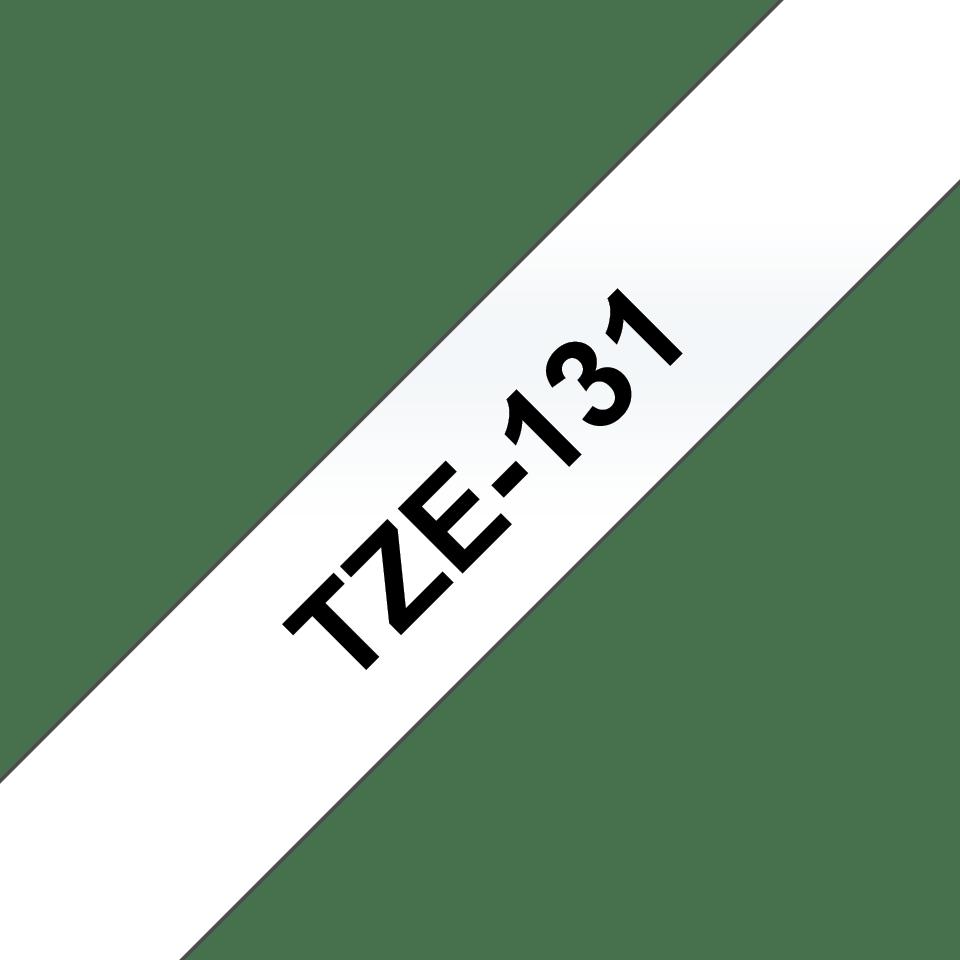 Ruban pour étiqueteuse TZe-131 Brother original – Transparent, 12mm de large 3