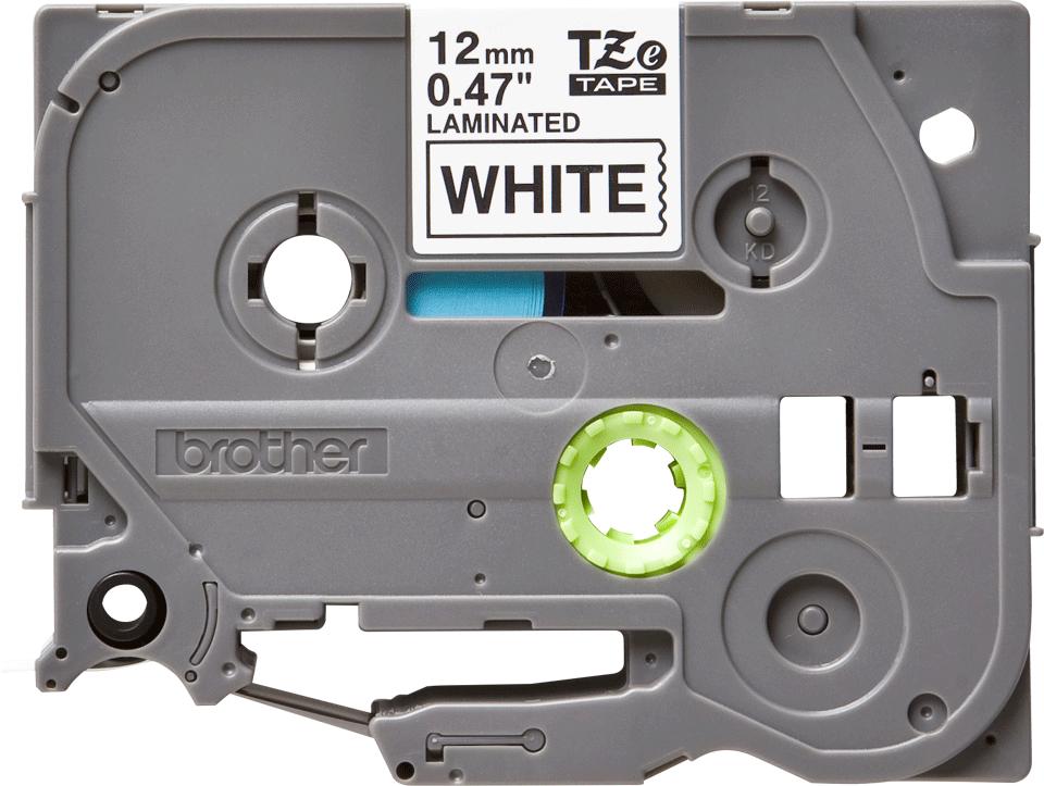Original TZe-231 Schriftbandkassette von Brother – Schwarz auf Weiß, 12mm breit
