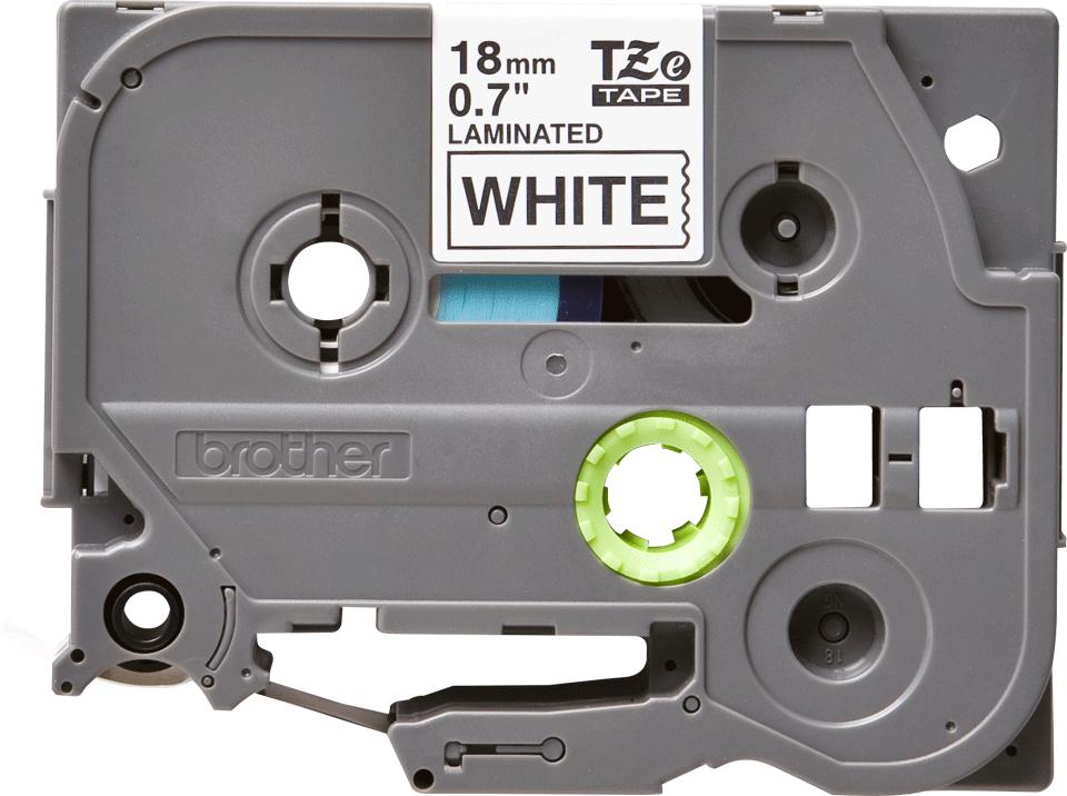 Original TZe-241 Schriftbandkassette von Brother – Schwarz auf Weiß, 18mm breit