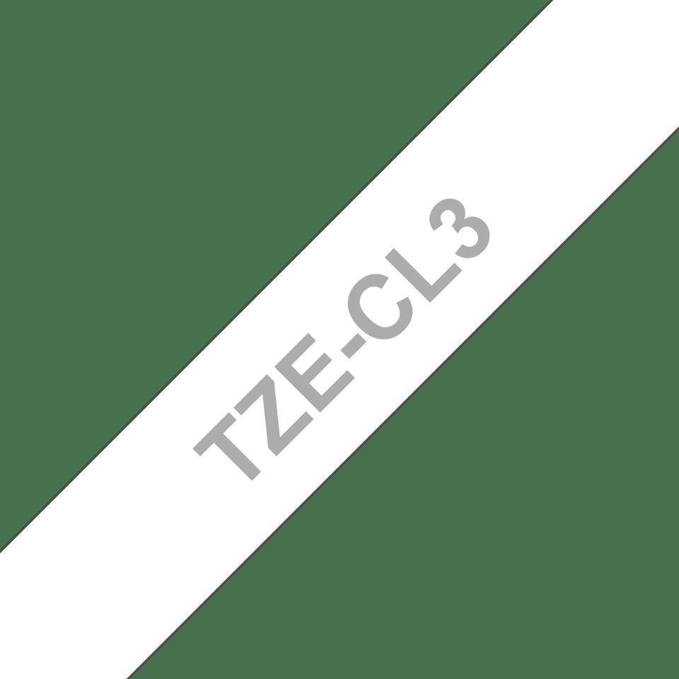 Cassette à ruban pour nettoyage de tête d'impression TZe-CL3 Brother originale – 12mm de large 3