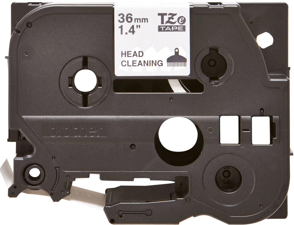 Cassette à ruban pour nettoyage de tête d'impression TZe-CL6 Brother originale – 36mm de large
