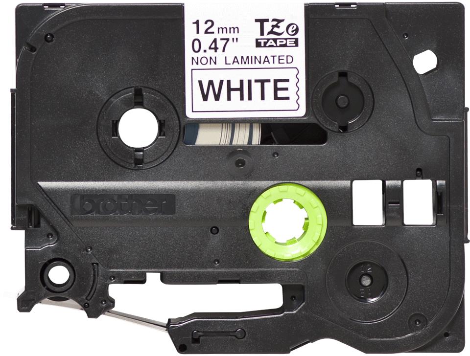 Original TZe-N231 Schriftbandkassette von Brother – Schwarz auf Weiß, 12mm breit