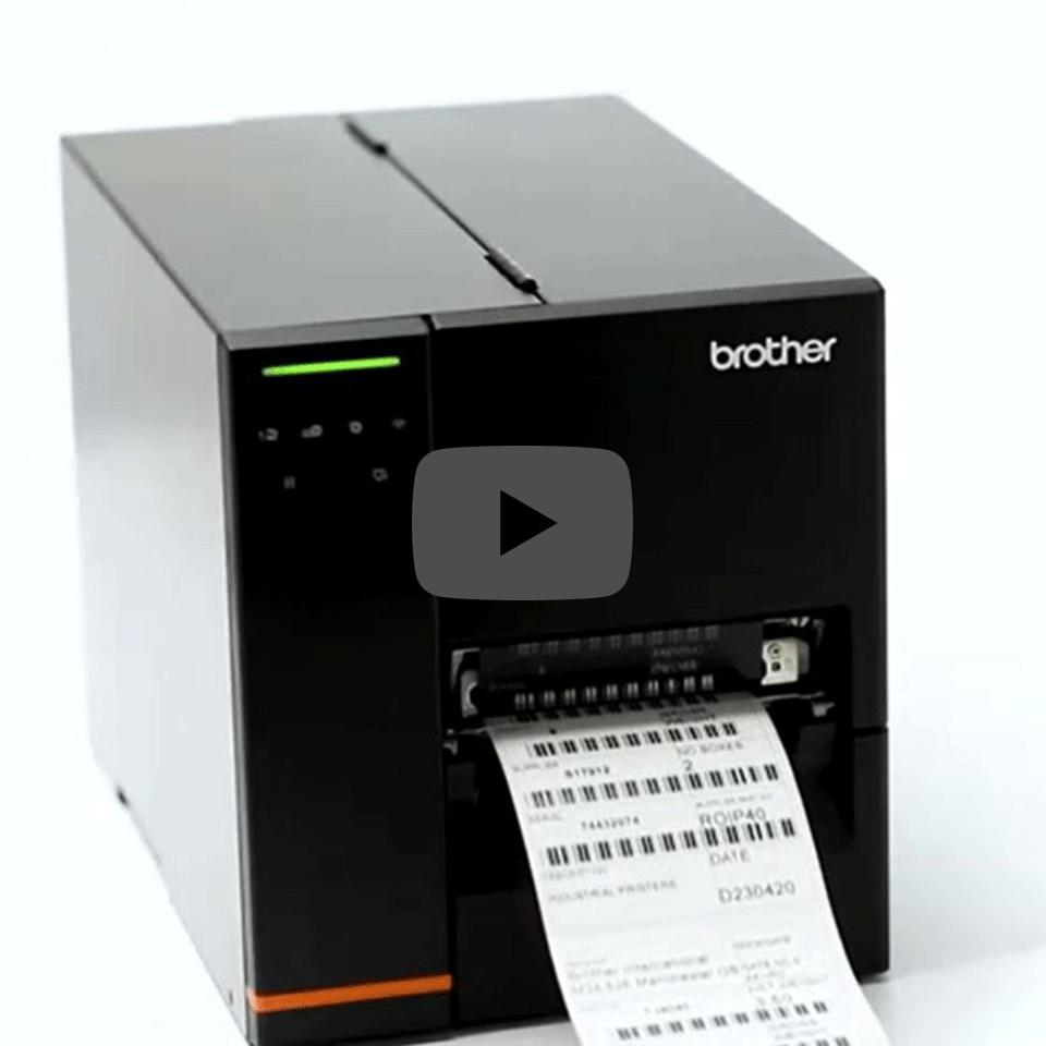 Brother TJ-4020TN Industrie-Etikettendrucker 5