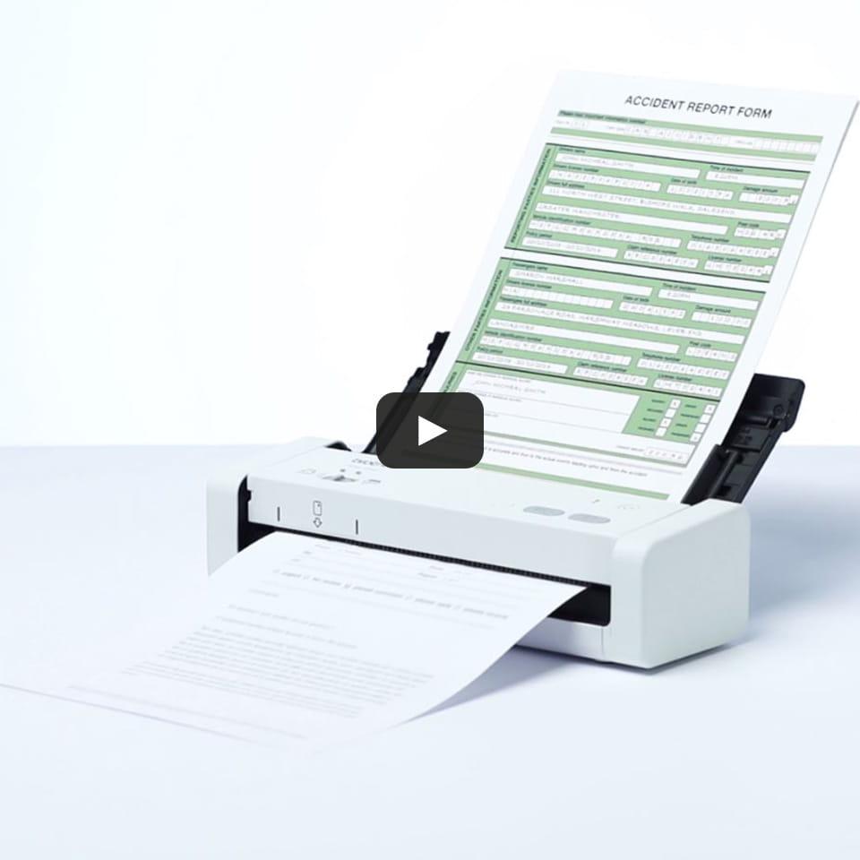 Scanner de documents compact et portable ADS-1200 9